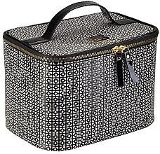 Parfémy, Parfumerie, kosmetika Kosmetická taška - Auri Simple Black & White Makeup Case