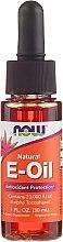 Parfémy, Parfumerie, kosmetika Olej Vitamín E - Now Foods Oil