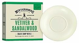 Parfémy, Parfumerie, kosmetika Mýdlo na holení Vetiver a santalové dřevo - Scottish Fine Soaps Vetiver & Sandalwood Shaving Soap Refill