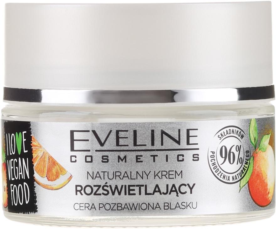 Krém na obličej Kamu Kamu a pomeranč - Eveline I Love Vegan Food Face Kream — foto N3