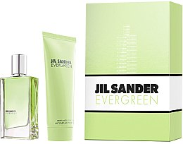 Parfémy, Parfumerie, kosmetika Jil Sander Evergreen - Sada (edt/30ml + body/lot/75ml)