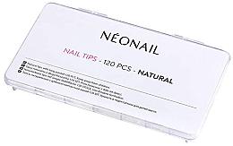 Parfémy, Parfumerie, kosmetika Nehtové tipy přírodní barvy - NeoNail Professional Nail Tips Natural