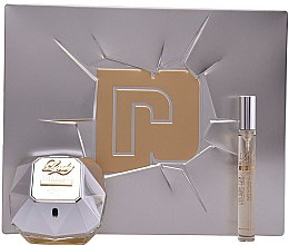 Parfémy, Parfumerie, kosmetika Paco Rabanne Lady Million Lucky - Sada (edp/80ml + edp/10ml)