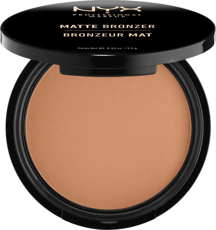 Bronzující pudr matný - NYX Professional Makeup Matte Bronzer