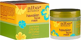 Parfémy, Parfumerie, kosmetika Maska na vlasy Papája - Alba Botanica Natural Hawaiian Facial Scrub Pore Purifying Pineapple Enzyme