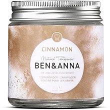 Parfémy, Parfumerie, kosmetika Zubní prášek se skořicí - Ben & Anna Toothpowder Cinnamon