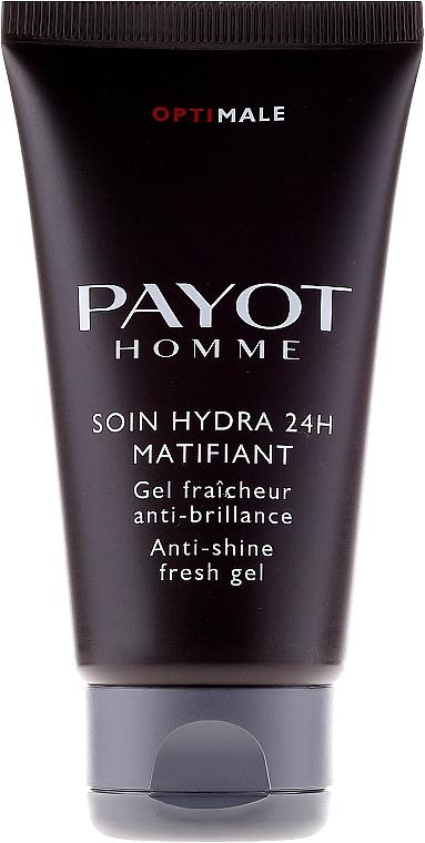 Osvěžující a matujicí gel - Payot Optimale Homme Soin Hydra 24H Matifiant  — foto N5