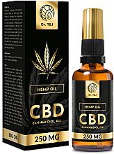 Parfémy, Parfumerie, kosmetika Přírodní konopný olej Bio CBD 250mg - Dr. T&J Bio Oil
