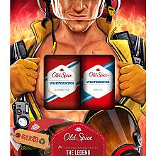 Parfémy, Parfumerie, kosmetika Sada - Old Spice WhiteWater Fireman (deo/50g + sh/gel/250ml)