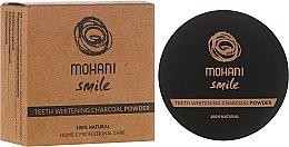 Parfémy, Parfumerie, kosmetika Bělící zubní prášek - Mohani Smile Teeth Whitening Charcoal Powder