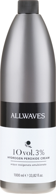 Krém-oxidační činidlo - Allwaves Cream Hydrogen Peroxide 3% — foto N3