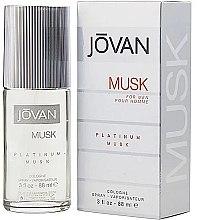 Parfémy, Parfumerie, kosmetika Jovan Platinum Musk For Men - Kolínská voda