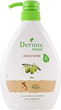 Parfémy, Parfumerie, kosmetika Krémové mýdlo Oliva - Dermomed Oliva Cream Soap