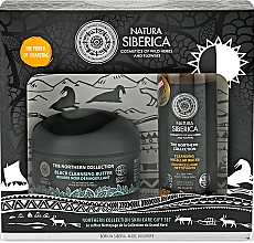 Parfémy, Parfumerie, kosmetika Sada - Natura Siberica The Northern Collection Gift Set (cl/but/120ml + micel/water/200ml)
