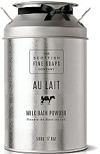 Parfémy, Parfumerie, kosmetika Mléčný pudr do koupele - Scottish Fine Soaps Au Lait Milk Bath Powder