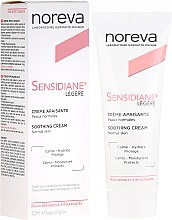 Parfémy, Parfumerie, kosmetika Krém na obličej s jemnou texturou - Noreva Laboratoires Sensidiane Legere Soothing Cream Normal Skin