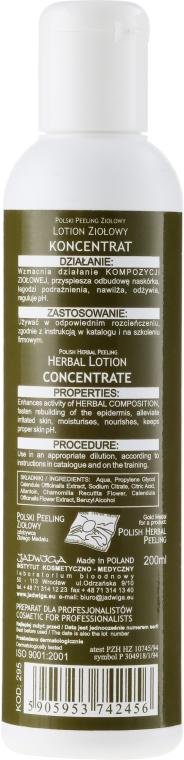 Koncentrované bylinné mléko na obličej - Jadwiga Herbal Lotion Concentrate — foto N2