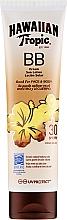 Parfémy, Parfumerie, kosmetika Opalovací mléko na obličej a tělo - Hawaiian Tropic BB Cream Sun Lotion Face And Body Spf30