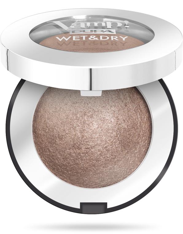 Zapečené stíny se zářivým efektem - Pupa Vamp! Wet & Dry Eyeshadow