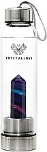 Parfémy, Parfumerie, kosmetika Láhev na vodu s krystaly duhového fluoritu, 500 ml - Crystallove