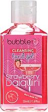 "Parfémy, Parfumerie, kosmetika Antibakteriální čisticí gel na ruce ""Jahodové daiquiri"" - Bubble T Cleansing Hand Gel"