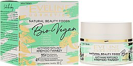 Parfémy, Parfumerie, kosmetika Matující krém na obličej - Eveline Cosmetics Natural Beauty Foods Bio Vegan