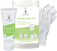 Parfémy, Parfumerie, kosmetika Sada na ruce - Bioturm Hand Care Set (cr/50ml + gloves)