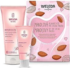 Parfémy, Parfumerie, kosmetika Sada - Weleda Mandel Sensitiv Set (sh/cr/200ml + h/cr/50ml)