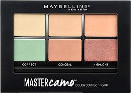 Parfémy, Parfumerie, kosmetika Paletka korektorů pro bezchybnou pleť - Maybelline Master Camo Color Correcting Concealer Kit
