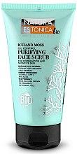 """Parfémy, Parfumerie, kosmetika Čistící peeling na obličej """"Islandský mech"""" - Natura Estonica Iceland Moss Face Scrub"""