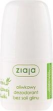 Parfémy, Parfumerie, kosmetika Deodorant - Ziaja Olive Leaf Roll On Anti-perspirant Without Aluminium Salt