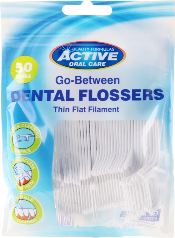 Flosser - Beauty Formulas Active Oral Care Dental Flossers