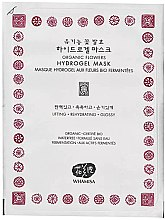 Parfémy, Parfumerie, kosmetika Hydrogelová obličejová maska - Whamisa Organic Flowers Hydrogel Mask