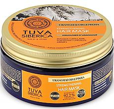 Parfémy, Parfumerie, kosmetika Posilující maska na vlasy - Natura Siberica Tuva Siberica Uranghai Oblepikha Strengthening Hair Mask