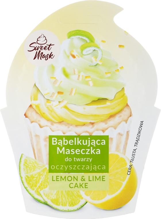 Čistící maska na obličej - Marion Sweet Mask Lemon & Lime Cake
