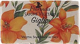 Parfémy, Parfumerie, kosmetika Přírodní mýdlo Lilie - Florinda Vegetal Lily Soap