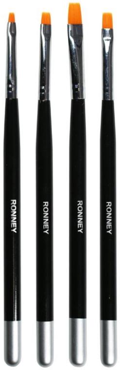Sada štětců na nehty, RN 00475 - Ronney Professional (4ks)