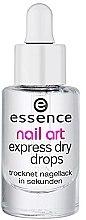 Parfémy, Parfumerie, kosmetika Kapky expresní sušení - Essence Circus Circus Nail Art Express Dry Drops