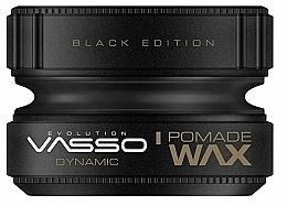 Parfémy, Parfumerie, kosmetika Pomáda na úpravu vlasů - Vasso Professional Hair Styling Pomade Wax Black Edition Dynamic