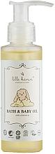 Parfémy, Parfumerie, kosmetika Dětský tělový a koupelový olej - Lille Kanin Bath & Baby Oil