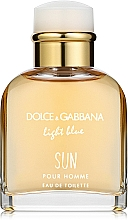 Parfémy, Parfumerie, kosmetika Dolce & Gabbana Light Blue Sun Pour Homme - Toaletní voda