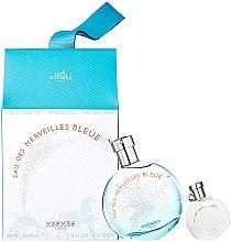 Parfémy, Parfumerie, kosmetika Hermes Eau des Merveilles Bleue - Sada (edt/50ml + edt/7.5ml)