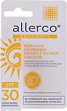 Parfémy, Parfumerie, kosmetika Ochranný balzám na rty s UVA/UVB filtry - Allerco Emolienty Molecule Regen7 Lip Balm SPF30