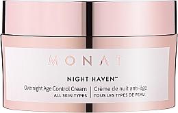 Parfémy, Parfumerie, kosmetika Anti-age noční krém na obličej - Monat Night Haven Overnight Age Control Cream