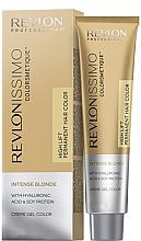 Parfémy, Parfumerie, kosmetika Krémová barva na vlasy v odstíně blond - Revlon Professional Revlonissimo Colorsmetique Intense Blonde