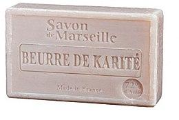 """Parfémy, Parfumerie, kosmetika Přírodní mýdlo """"Bambucké máslo"""" - Le Chatelard 1802 Shea Butter Soap"""