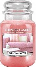 Parfémy, Parfumerie, kosmetika Vonná svíčka ve sklenici - Country Candle Welcome Home