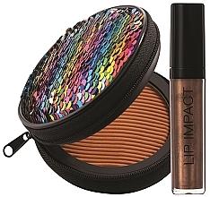 Parfémy, Parfumerie, kosmetika Sada - NoUBA Sunlike Natural Tan №3 (f/powder/15g + lip gloss/6ml)