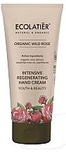 Parfémy, Parfumerie, kosmetika Krém na ruce Mládí a krása - Ecolatier Organic Wild Rose Intensive Regenerating Hand Cream