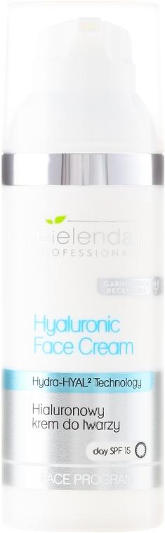 Hyaluronický krém na obličej c SPF 15 - Bielenda Professional Hydra-Hyal Injection Hyaluronic Face Cream — foto N1